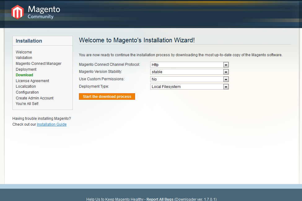 Installing Magento on XAMPP