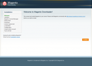 A beautiful sight if you've been wrestling with Magento!